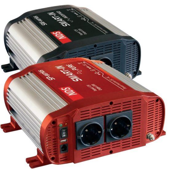 Zuivere gemodificeerde sinus omvormer NDS 12 of 24 Volt tot 1500Watt