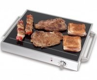 electrische barbecue Can THUNDERGRILL Electrische Grill Glas
