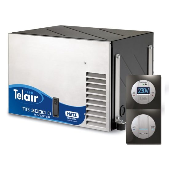 TIG3000 D generator Telair diesel