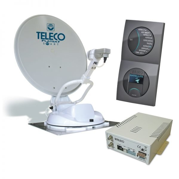 teleco flatsat smart disecq classic automatische schotel satelliet antenne Classic