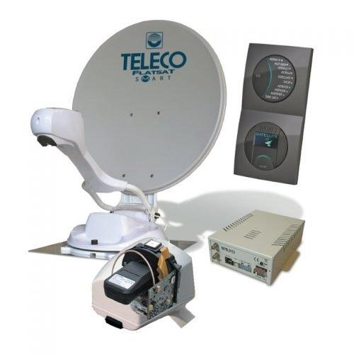 teleco flatsat smart disecq classic automatische schotel satelliet antenne Easy Skew