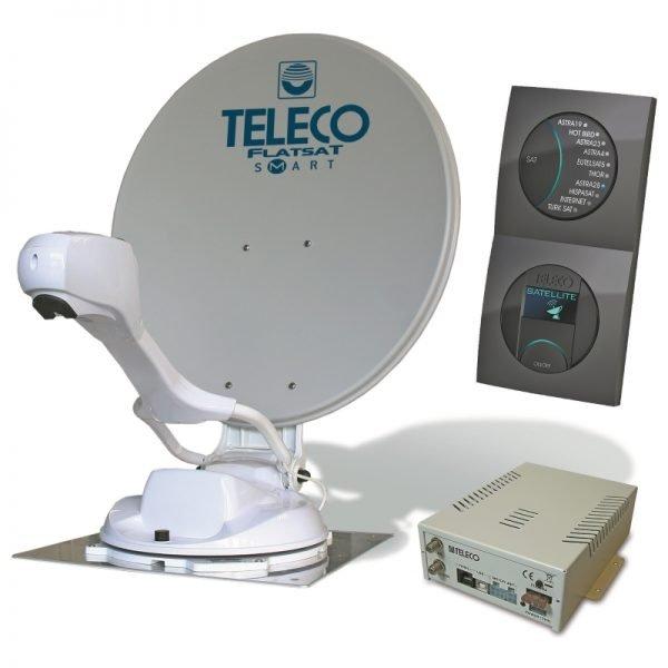 teleco flatsat smart disecq classic automatische schotel satelliet antenne Classic Easy
