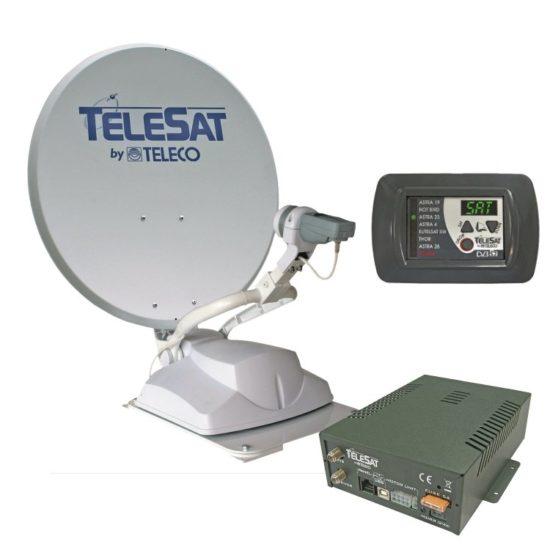 Teleco Telesat automatische schotel satelliet antenne