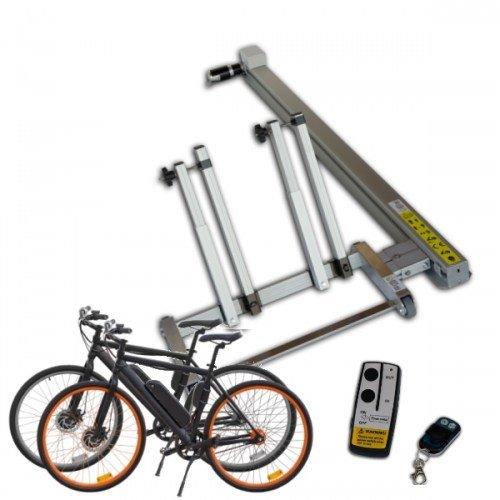 Automatische-fiets-ebike-laadbaan-camper