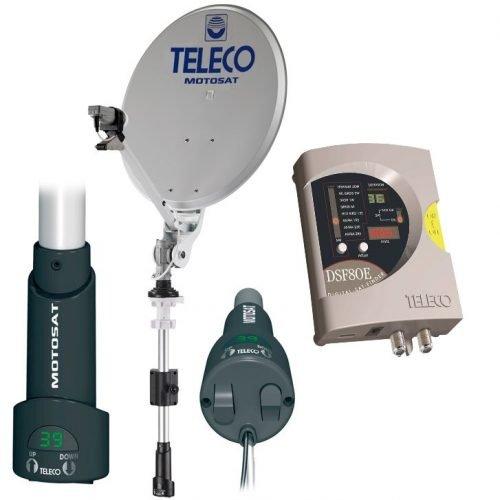 motosat digimatic dsf80/Ehalf automatische manuela satelliet schotel antenne