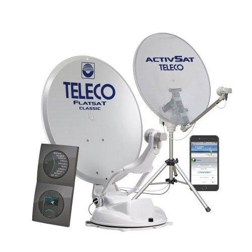 Automatische Satellietantennes