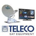 Teleco satellietantennes , televisies automatisch