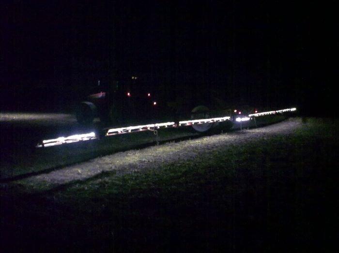 tractech trekker sprayer sproeier verlichting led tractor straal
