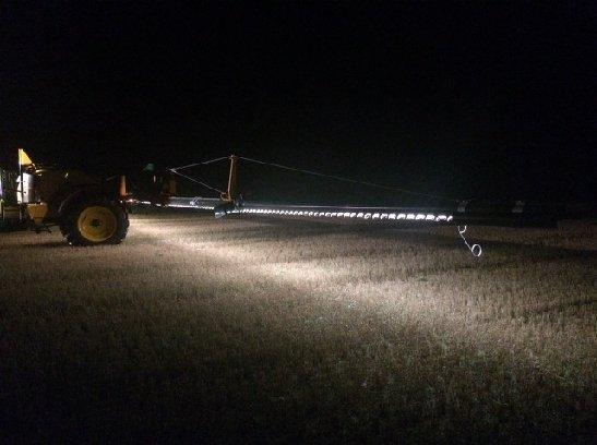 sproeier verlichting voor landbouw trekkers tractoren ForTractor Verlichting